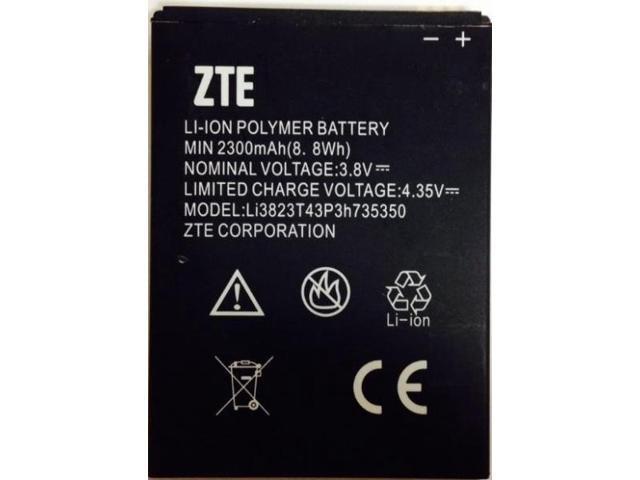 New OEM ZTE Li3823T43P3h735350 N986 N9835 GRAND X V975 U988S Q801U MF64 Z64  Z826 - Newegg com