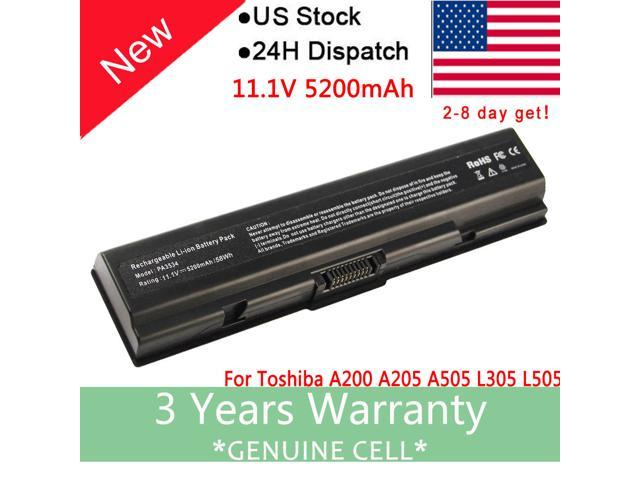 Battery for Satellite Toshiba A205-S5804 A505-S6980 L305-S5955 A305-S6905  L200 - Newegg com