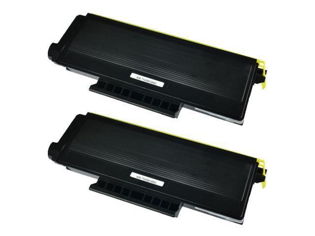 US STOCK 2PK TN650 Black Toner Cartridge For Brother HL-5370DW MFC-8370 Printer