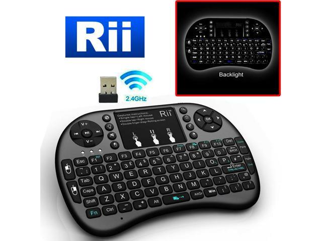 Rii i8 Mini 2 4GHz for PC XBox 360 PS4 Keyboard Mouse Android TV Box  Wireless - Newegg com