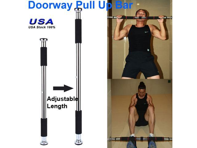 Portable Workout Gym Exercise Doorway Pull Up Chin Up Bars Home