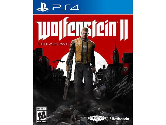 Wolfenstein 2 The New Colossus for PS4 Playstation 4 Pro Console