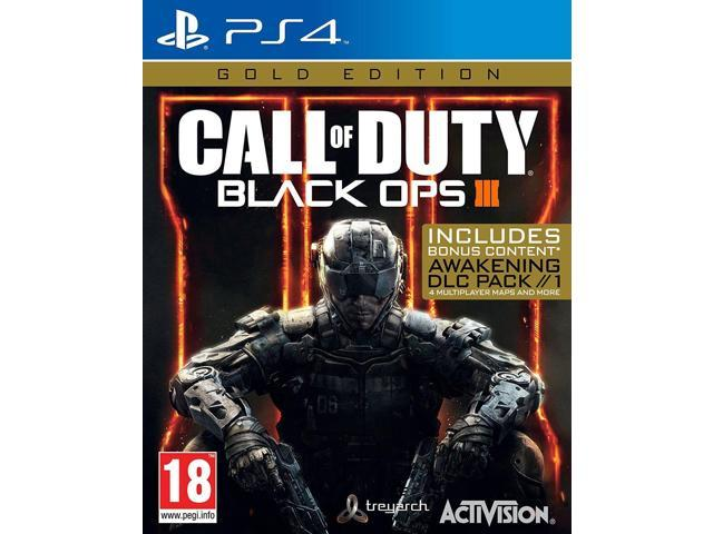 Call of Duty Black Ops 3 III - Gold Edition [Sony PlayStation 4 PS4 Bonus COD]