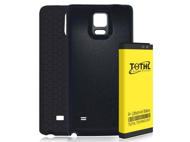 more photos ac6d1 a19b2 TQTHL A+ 7650mAh Extended Battery + Cover + Case for Samsung Galaxy Note 4  - Newegg.com