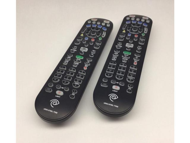 Refurbished: 2 (2x) Time Warner - Spectrum UR5U-8780L-TWM Universal Remote  Control KLIKR-5 - Newegg com