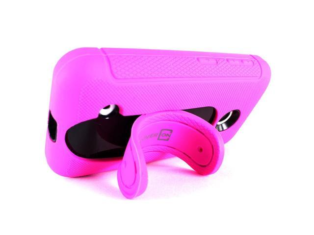 detailed pictures 787c2 36809 CoverON for Nokia Lumia 530 Case Hybrid Kickstand Hard Phone Cover Pink &  Black - Newegg.com