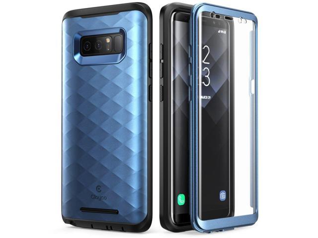 uk availability 6c0cb 8d35b Samsung Galaxy Note 8 Case Full-body Cover w Built-in Screen Protector Blue  New - Newegg.com