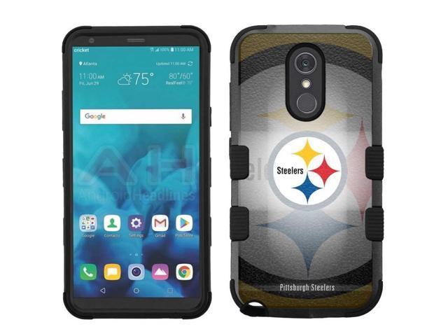for LG Stylo 4 Armor Impact Hybrid Cover Case Pittsburgh Steelers #BG -  Newegg com
