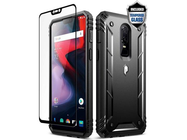 promo code 6d2fa a98ce Poetic Revolution Full-Body Rugged Heavy Duty Case For OnePlus 6 (2018)  Black - Newegg.com