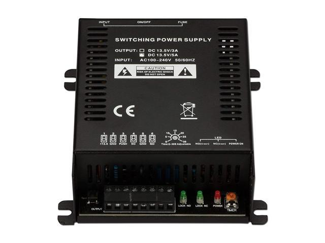 Soter Security Ac110-240V To Dc13 5V 5A Power Supply For Electric Door Lock  Office Access Control System - Newegg ca
