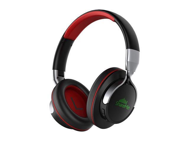 db18d0fe964 [Cnet'S Pick]Over-Ear Bluetooth Headphones,? Shareme Wireless Music Stereo  Sports