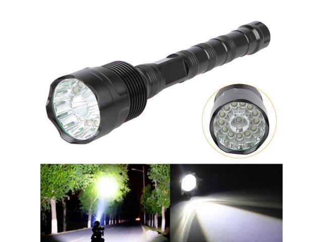 Super-bright XPE COB 90000LM  LED Outdoor Torch Rechargeable Camping Flashlight