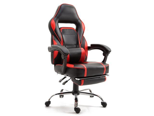 Remarkable Samincom Computer Gaming Chair Racing Style High Back Reclining Swivel Pu Leather Ergonomic Executive Task Office Chair With Lumbar Support And Dailytribune Chair Design For Home Dailytribuneorg