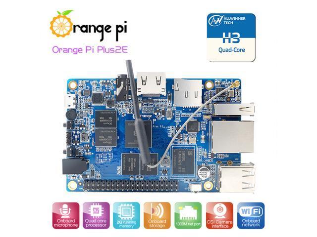 6b0849d80 Naranja Pi Plus 2E H3 Quad Core 2GB de memoria RAM 4 Junta de desarrollo de