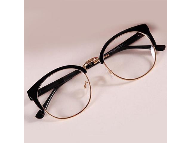 0eaea27d706ff Vintage Fashion women eyeglasses myopia retro optical glasses frame brand  design plain eye glasses oculos de