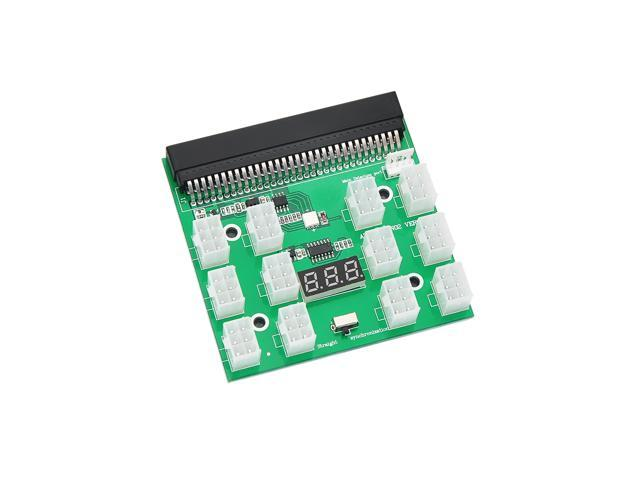 PSU Breakout Board Adapter for HP Dell 750W/1200W/1500W Server Power Supply  Ethereum ETH ZEC 12V GPU Mining - Newegg com