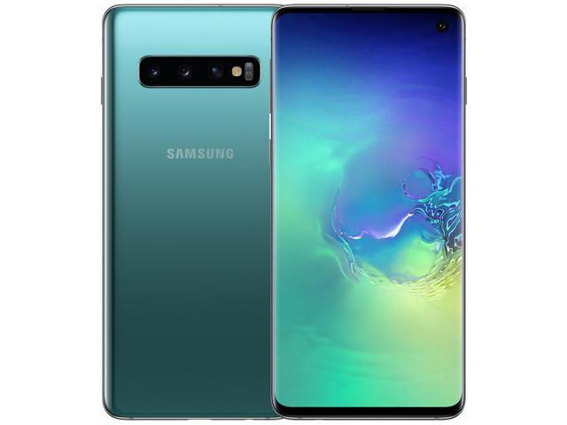 Samsung Galaxy S10 G973 128GB Unlocked GSM LTE Phone with Triple 12 MP + 12 MP + 16 MP Rear Camera - Prism Green (International Version)
