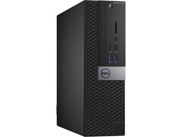 DELL Desktop Computer OptiPlex 7040 Small Form Factor SFF Intel Core i5 6th Gen 6500 (3.20 GHz) 8GB DDR4 1TB HDD Windows 10 Pro 2 Year Warranty