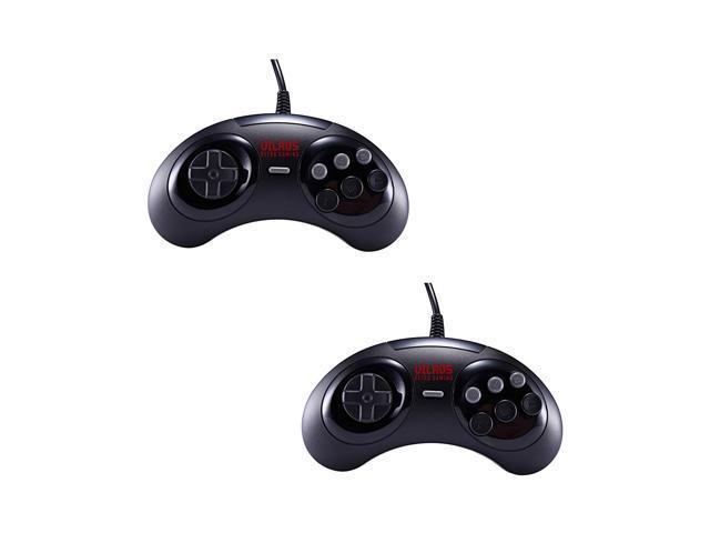 Vilros Retro Gaming SEGA Genesis Style USB Gamepads-Set of 2 - Newegg com