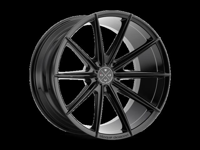 Blaque Diamond BD11 20x11 5x108 ET30 Gloss Black Concave Wheels Rims -  Newegg com