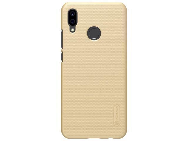 Top Brand Frosted Matte Phone Case Cover for Huawei Nova 3E ( P20 Lite ) (  Black / Gold ) - Premium High Quality Original Ultrathin Hard PC Air Armor
