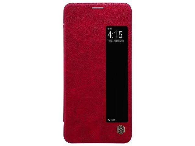 c38e31c66b Top Brand Luxury Back Flip Cover Leather Case with Notification Screen for  Huawei Mate 10 Pro ( Black / Brown / Red) - Premium High Quality Original  ...