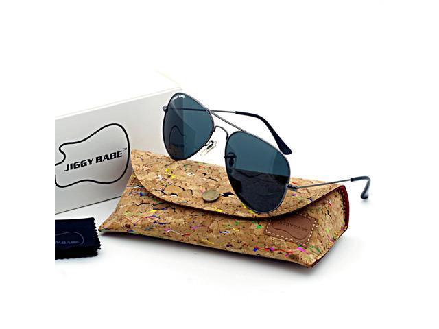 a1a3135a77f Top Premium Brand Name Designer Sunglasses Polarized UV400 Driving Retro  Vintage Pilot 3025 Large Metal for