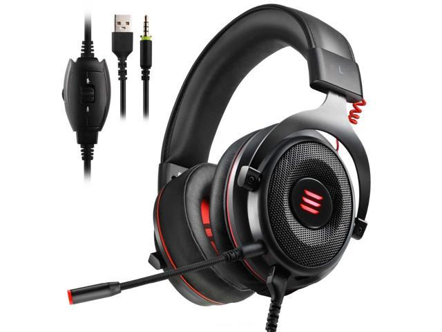 2d346233f61 EKSA E900 Gaming Headset Xbox One Headset with 7.1 Surround Sound, PS4  Headset Noise Cancelling