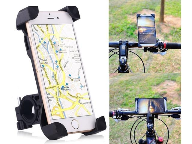 f19d75aa3 Soporte de montaje de manillar bicicleta bicicleta motocicleta universal  360° para dispositivos de GPS Smartphone