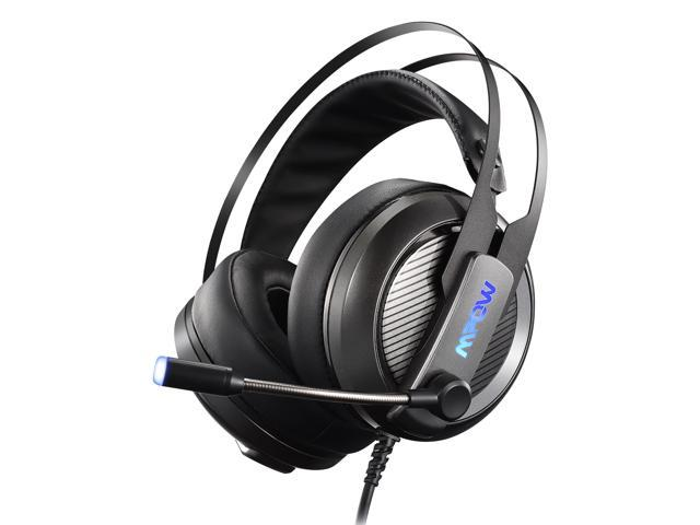 d5af7d6e906 Mpow EG4 Gaming Headset, Stereo Over-ear Gaming Headphones, Virtual 7.1  Channel Surround