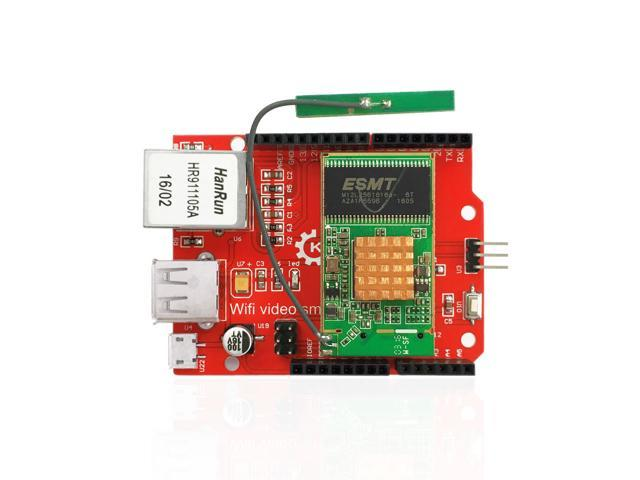 Keyestudio RT5350 Module Openwrt Router Wifi Wireless Video Shield Board  For Arduino - Newegg com