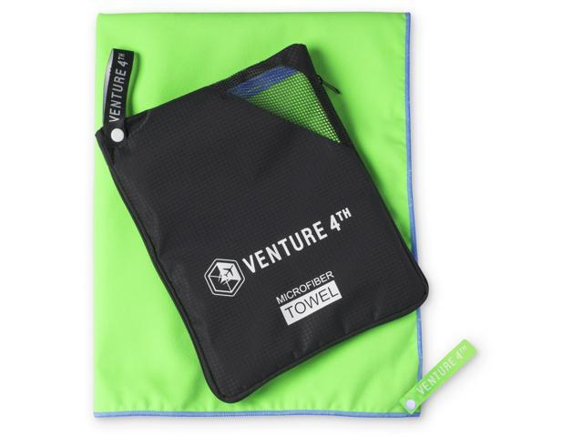 VENTURE 4TH Microfiber Travel Towel Gym Quick Dry Towel for Camping Hiking