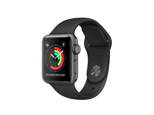 82db54143 New Apple Watch Series 1 38mm Smartwatch (Space Gray Aluminum Case/Black  Sport Band