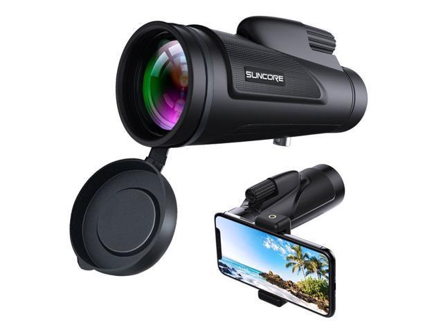 Monocular telescope for smartphone 12x50 high power bak4 prism