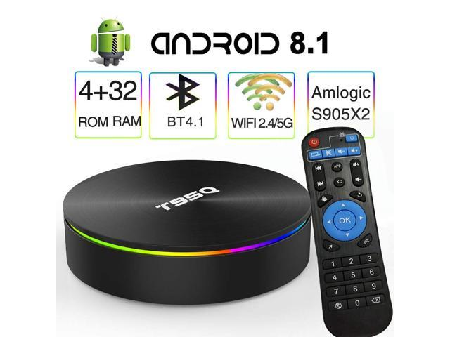 US T95Q S905X2 ANDROID 8.1 TV BOX 4GB+32GB 64GB DUAL WIFI BT 4.1 HD MEDIA PLAYER