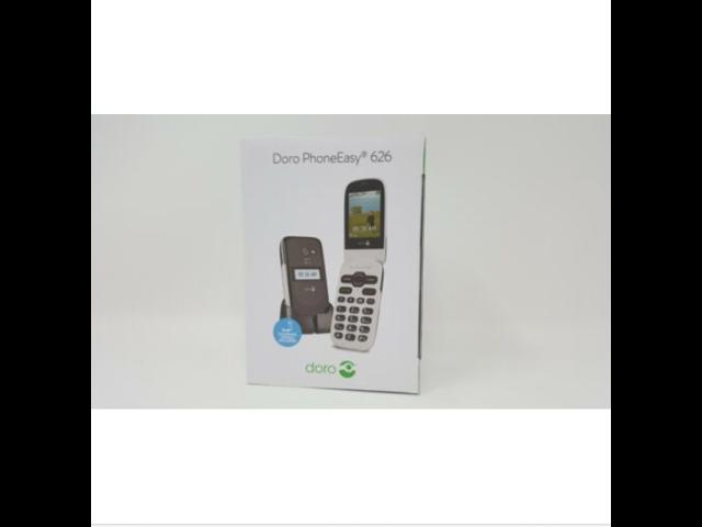 New Doro Phone Easy 626 Flip  Global GSM Factory Unlocked  - Black / White  - Newegg com
