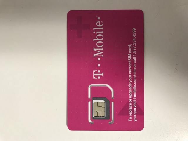 First Month $70 T-Mobile One Unlimited 4G LTE Plan Preloaded Prepaid SIM  Card - Newegg com