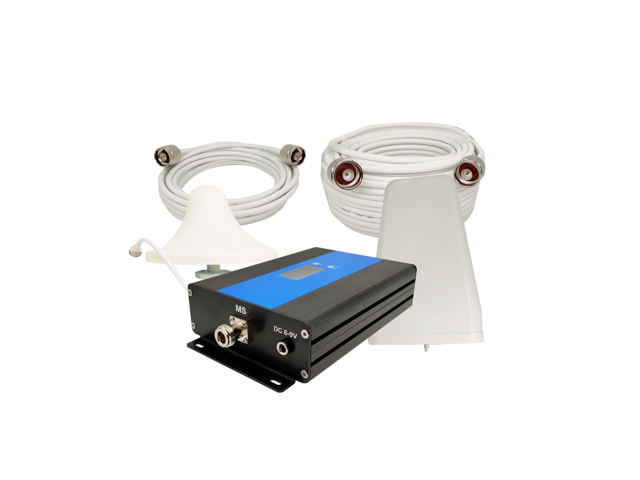Dual band signal booster 850/1900mhz smart LCD ALC/AGC ,anti-oscillation  cellphone signal repeater - Newegg com