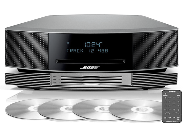 UPGRADED Bundle of Bose Wave Music System IV with Bose Wave Multi-CD  Changer by Harmony Concepts, Espresso Black - Newegg com