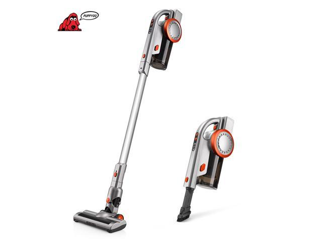 PUPPYOO A9 Cordless Vacuum Cleaner Brushless Motor LED 200W 45Min 17000pa 1.29kg