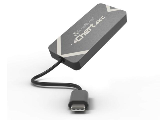 ClonerAlliance Chert 4KC, HDMI to USB-C Video Capture Dongle, - Sale: $142.99 USD (18% off)
