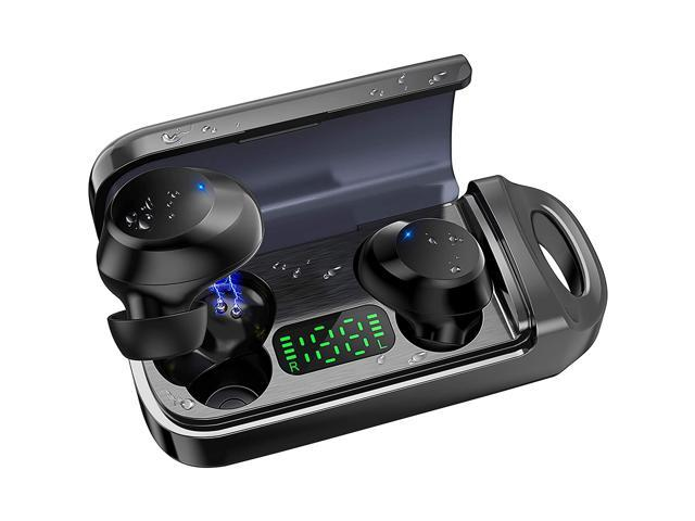 Bluetooth 5.0 True Wireless Earbuds with LED Display Wireless - Sale: $22.99 USD