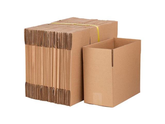 Packing and shipping cartons 100 corrugated boxes 8x6x4 (20.3 * - Sale: $50.77 USD