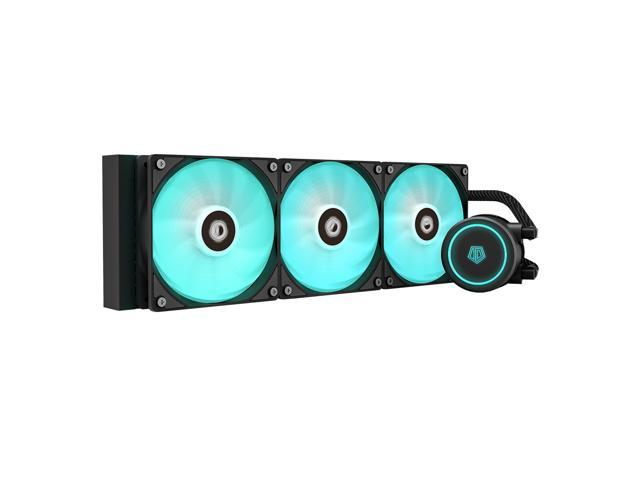 ID-COOLING AURAFLOW X 360 All-In-One Liquid RGB CPU Cooler + $5 GC
