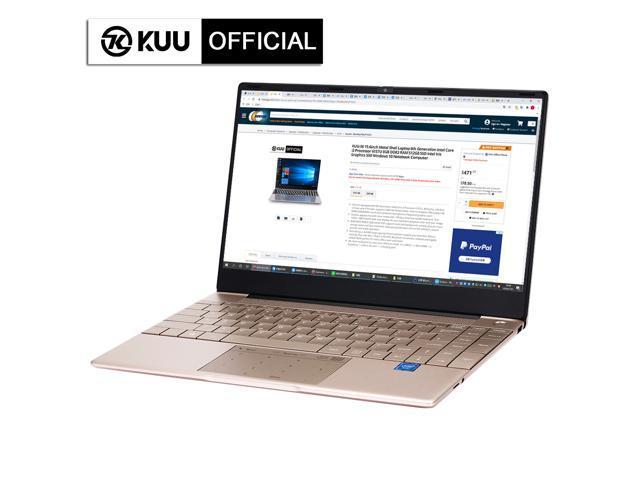 "KUU-K2 14.1"" IPS Screen All Metal Shell Champagne Gold Office - Sale: $306 USD (17% off)"