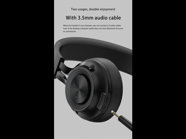 Bluetooth Headset Folding Wireless Portable Computer Mobile Phone Universal Ultra Long Standby 3 5mm Usb Connector Circumaural Newegg Com