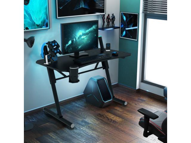 Merax 43 inch Gaming Desk Racing Style Computer Desk with - Sale: $149.99 USD