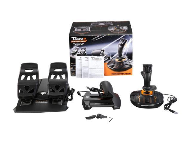 Thrustmaster T.16000M FCS Flight Pack: Joystick, Throttle and - Sale: $549.48 USD