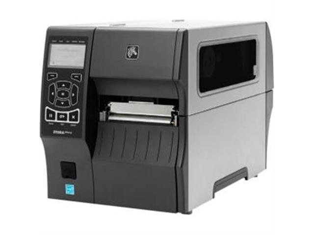 "Zebra ZT410 4"" Industrial Thermal Transfer Label Printer, LCD, 300 dpi, Serial, USB, 10/100 Ethernet, Bluetooth 2.1/MFi, USB Host, Cutter w/ Catch Tray, EZPL, XML Support, US Cord - ZT41043-T210000Z"