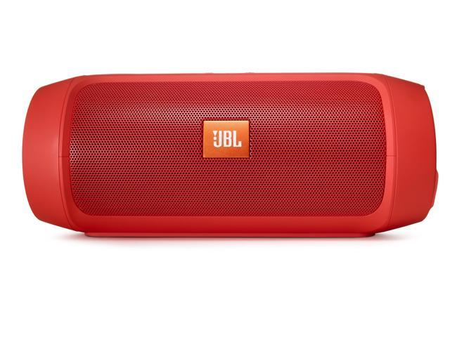JBL Charge 2+ Portable Bluetooth Splashproof Speaker (Red)